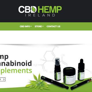 Cbd oil hemp.ie