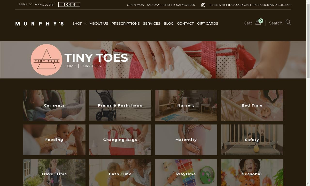 TinyToes.ie 1