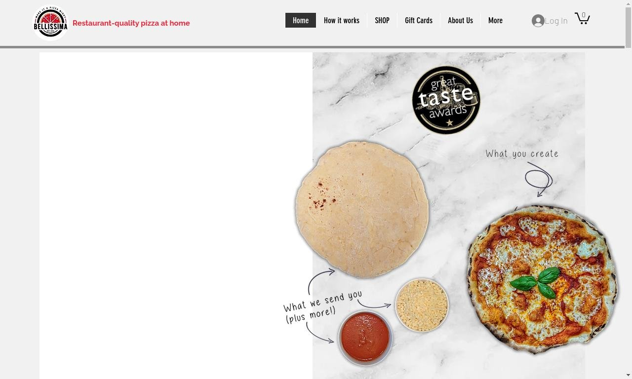 Pizzabellissima.ie 1