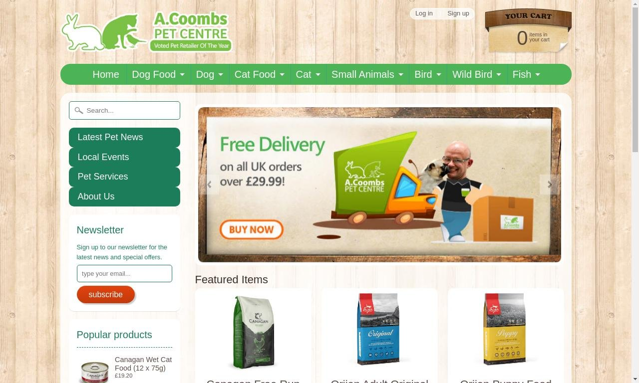 A Coombs Pet Centre 1