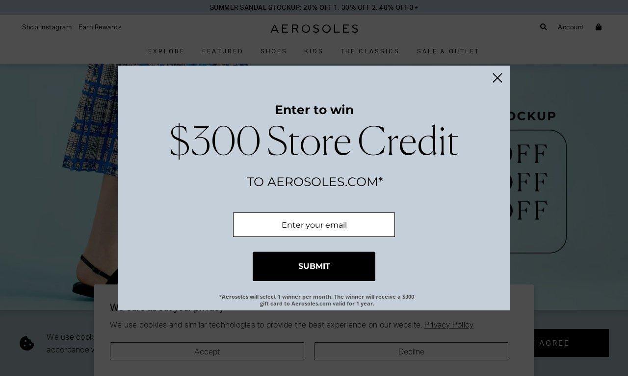 Aerosoles.com 1