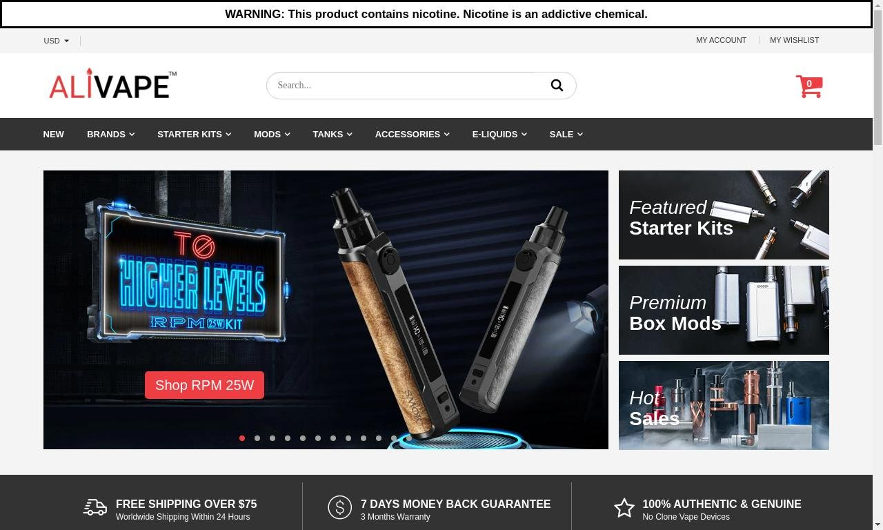 Alivape.com 1