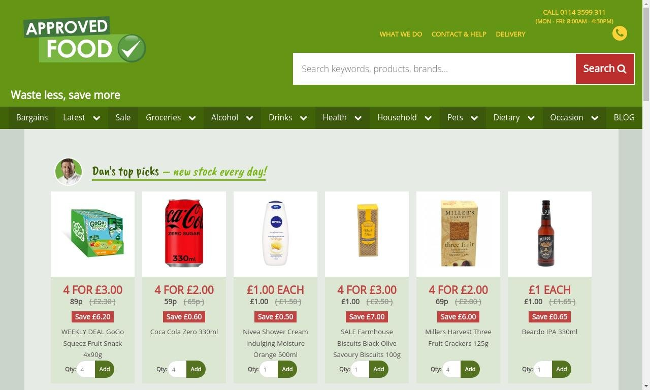 Approvedfood.co.uk 1
