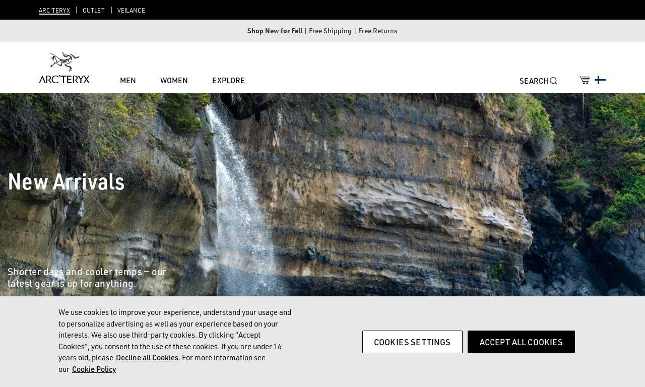 Arcteryx.com 1