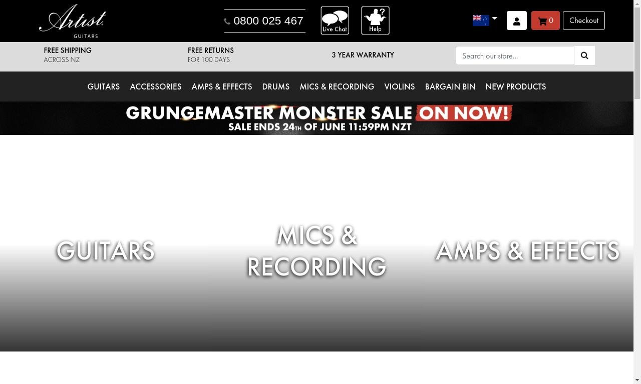 Artistguitars.co.uk 1