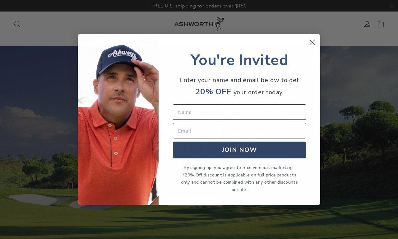 Ashworth golf.com 1