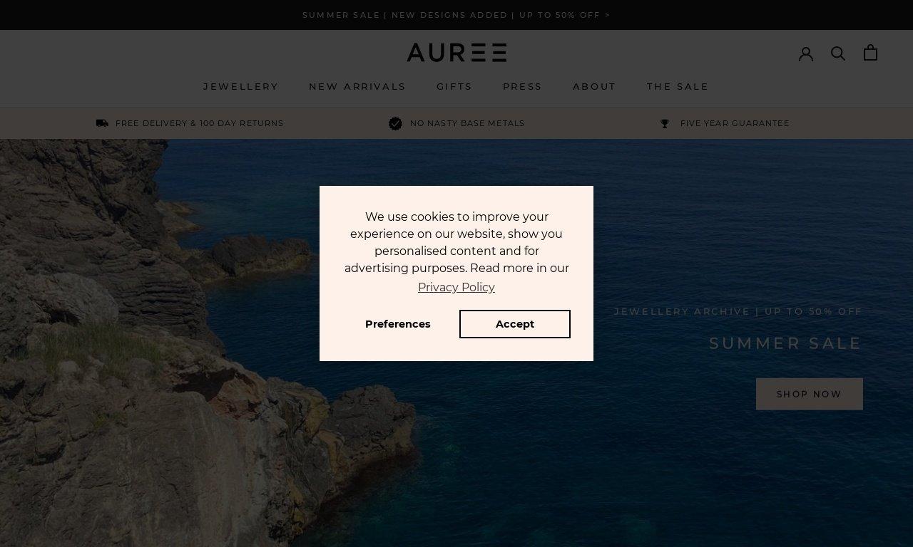Aureejewellery.com 1