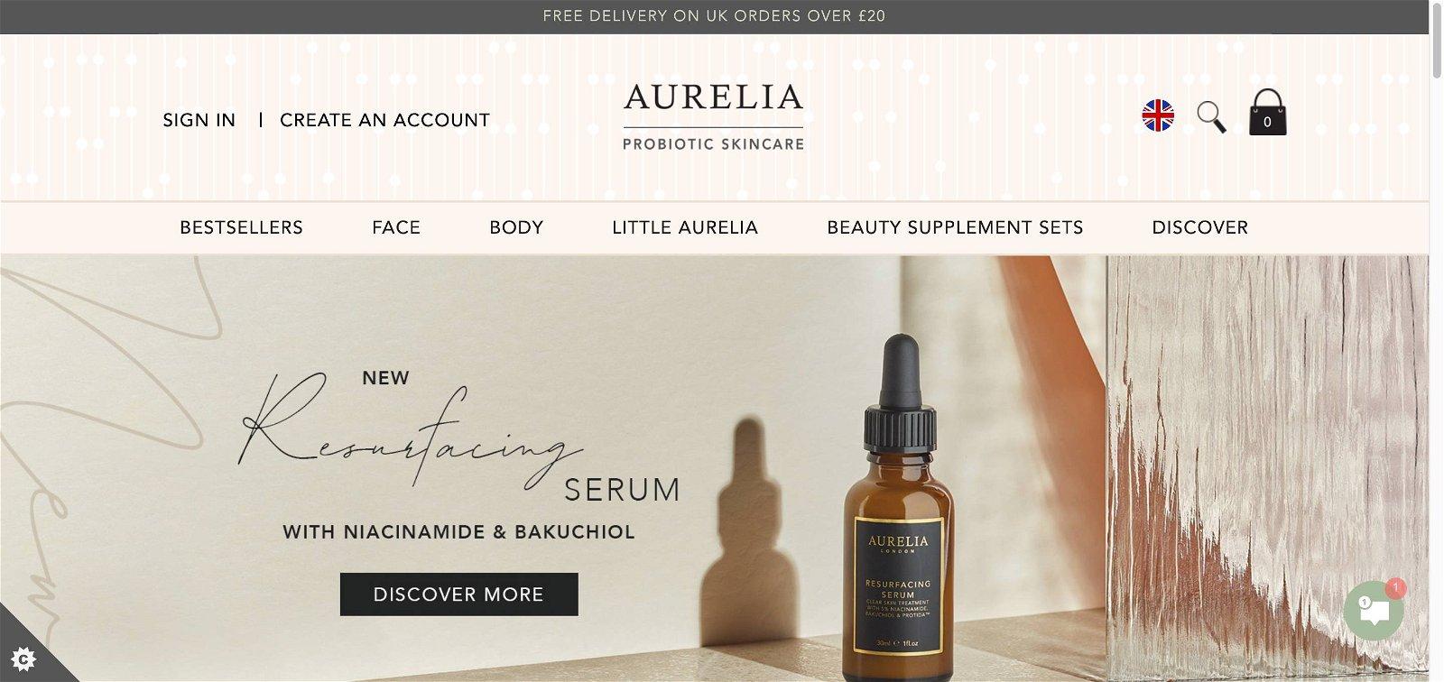 Aurelia skincare.com 1