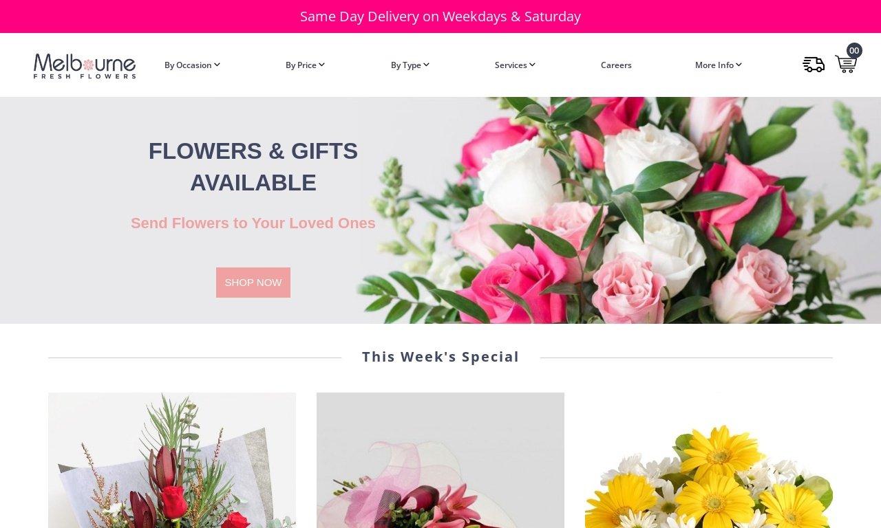 Melbournefreshflowers.com.au 1