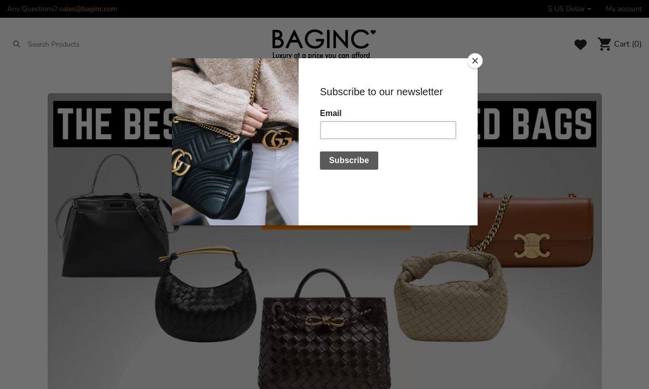 Baginc.com 1