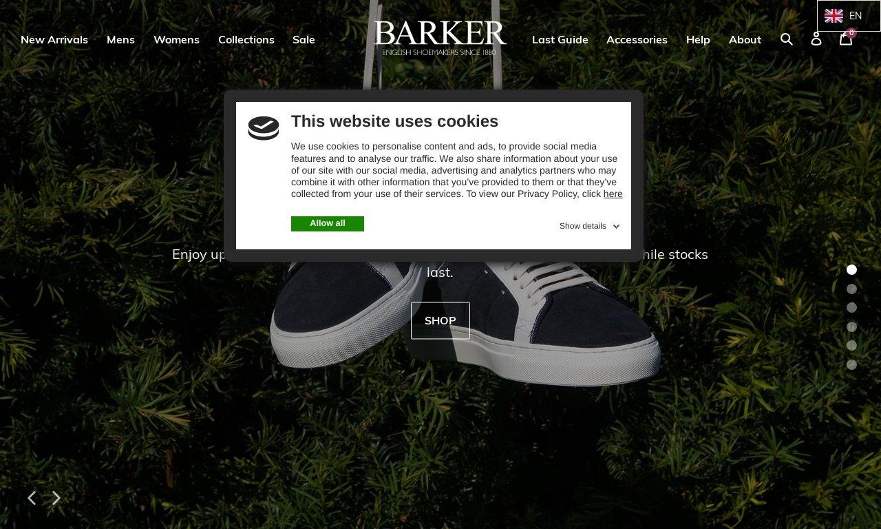 Barkershoes.com 1