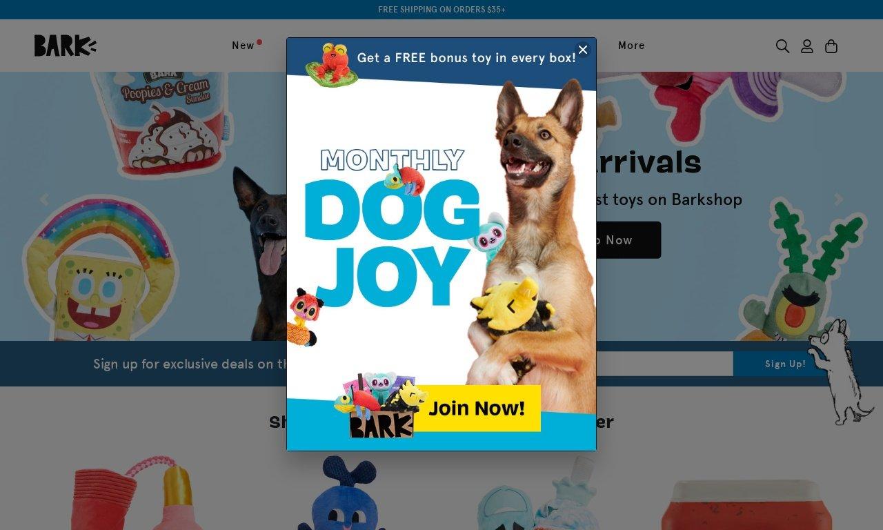 Barkshop.com 1