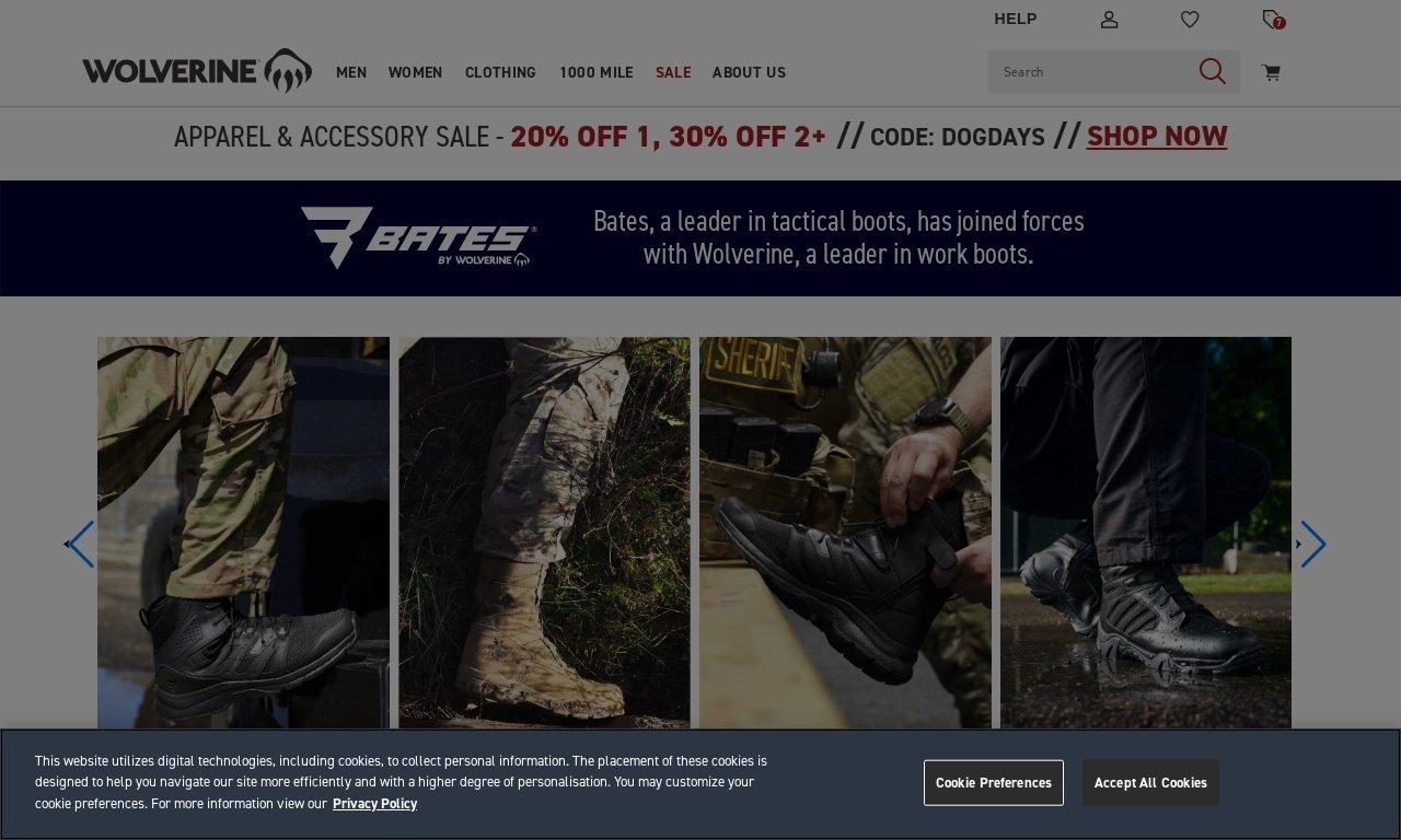 Batesfootwear.com 1