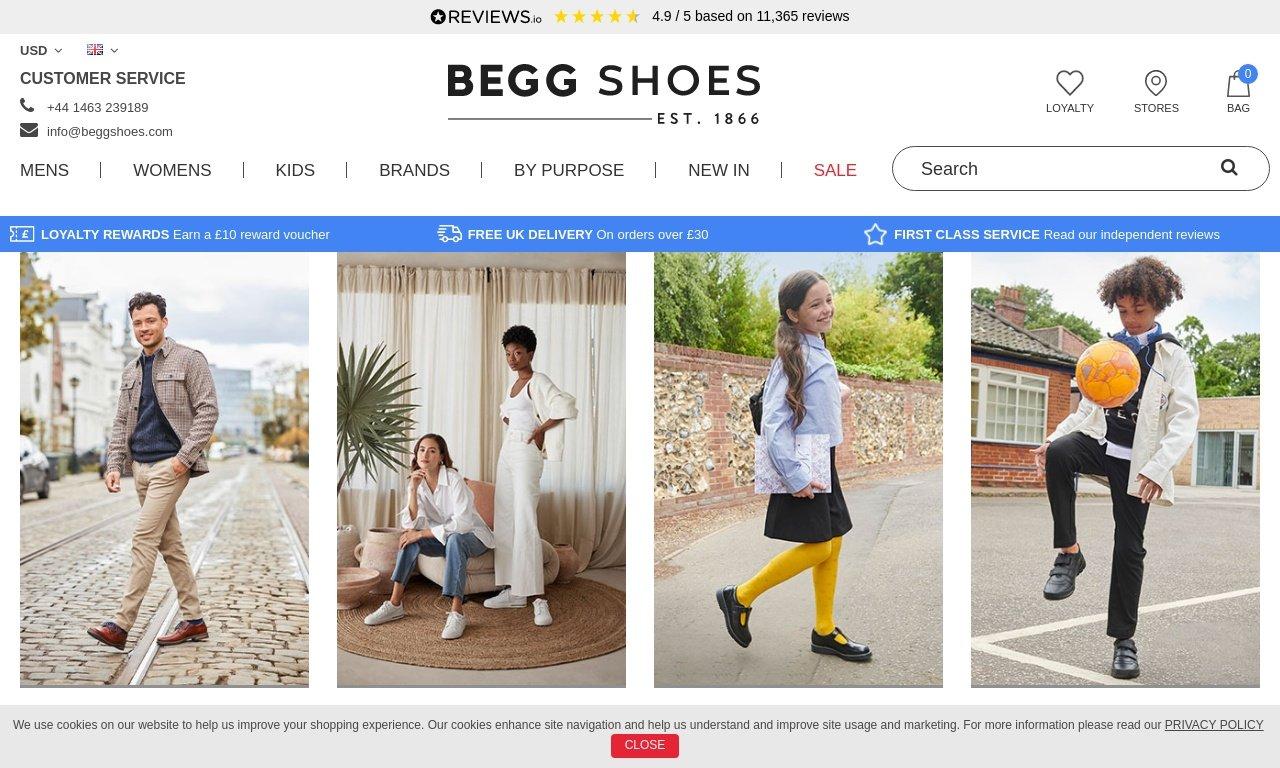 Beggshoes.com 1