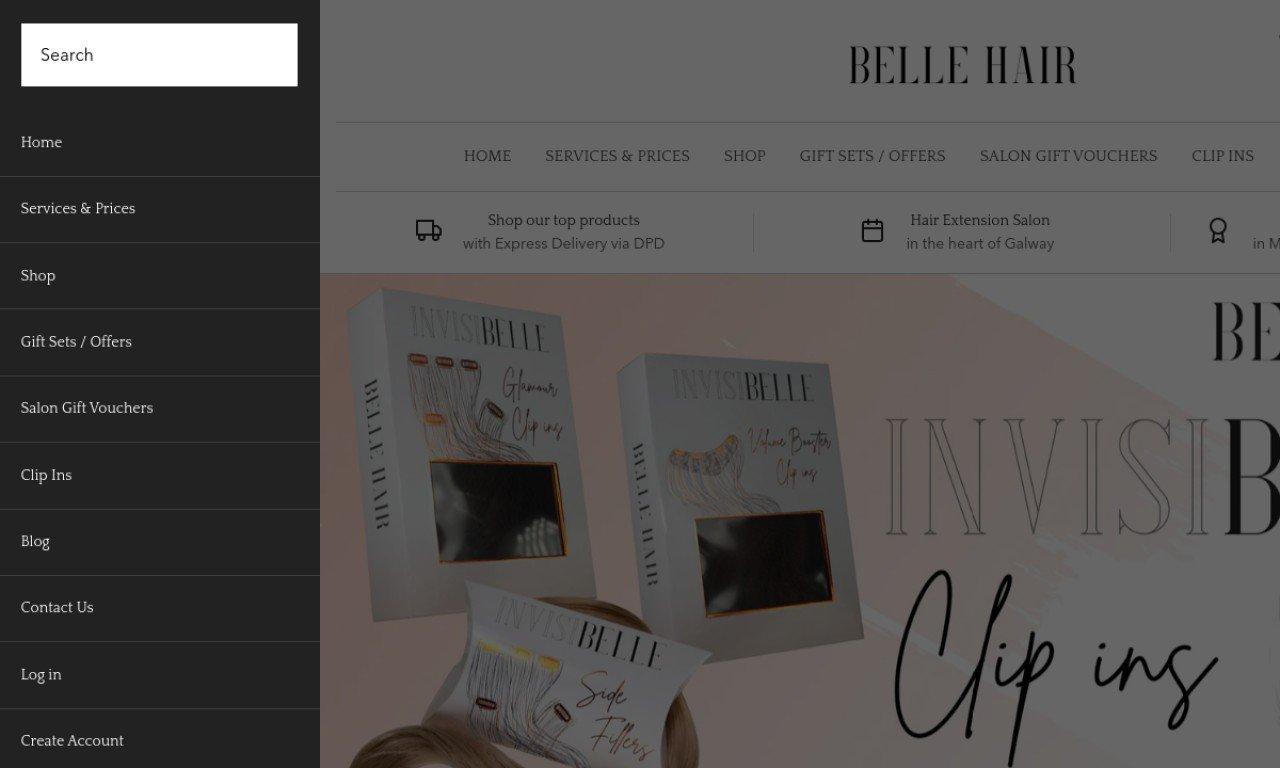 Bellehair.ie 1