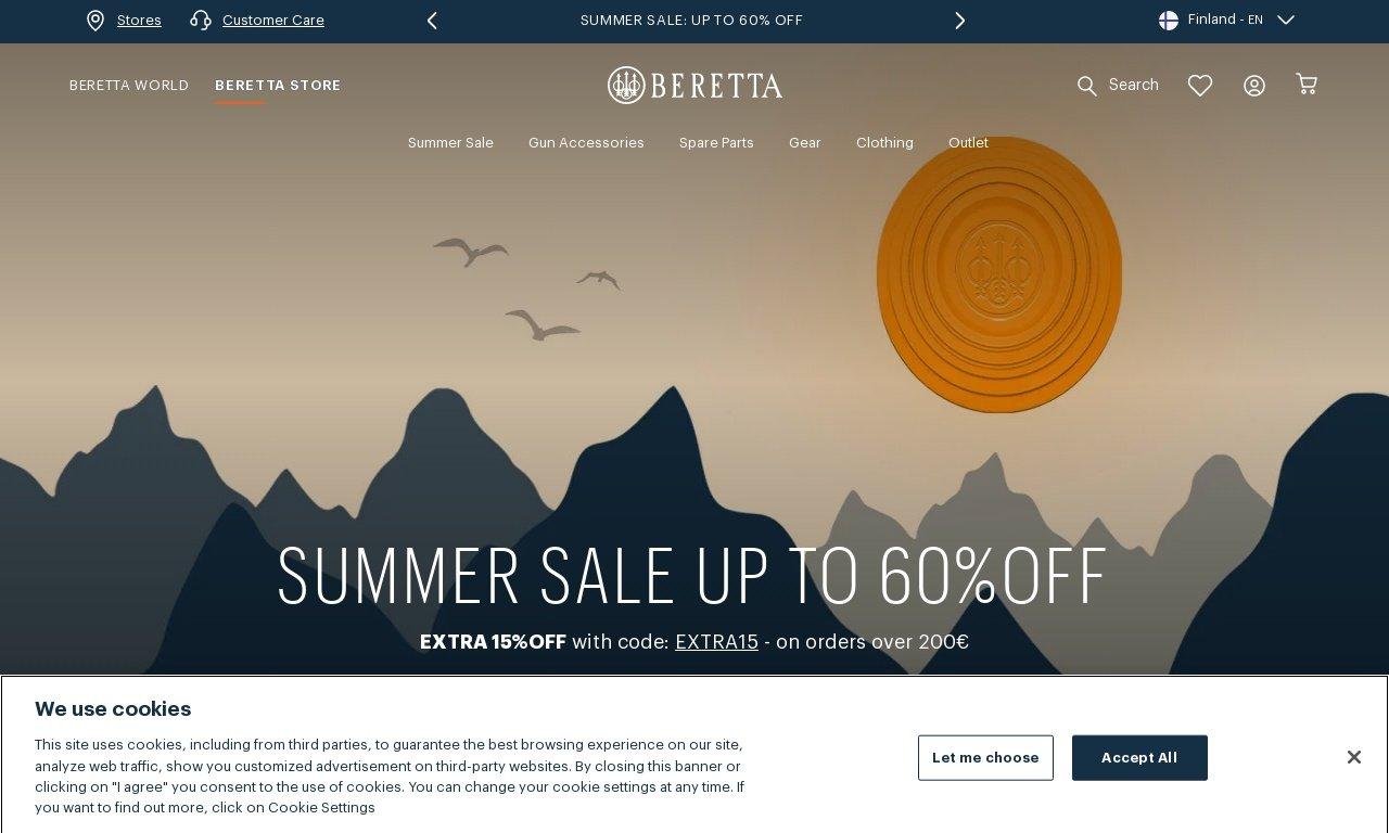 Beretta.com 1