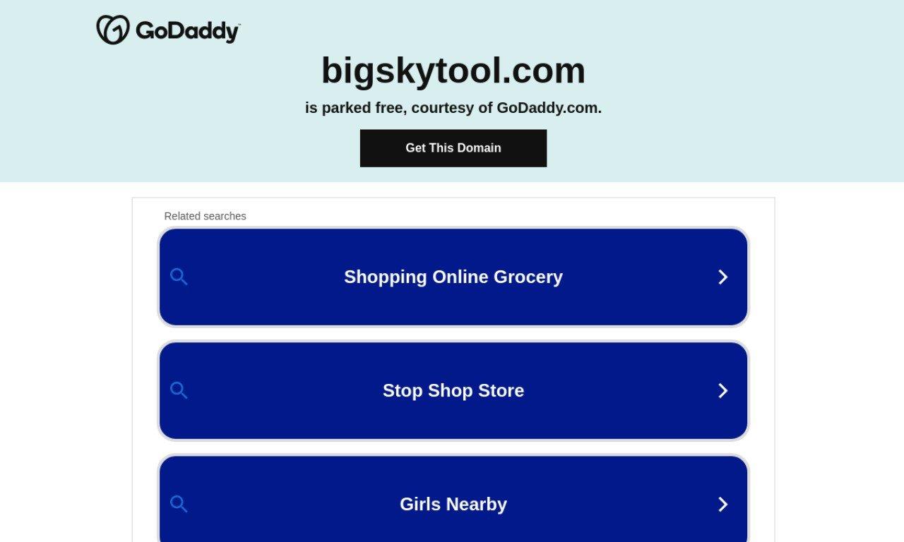 Bigskytool.com 1