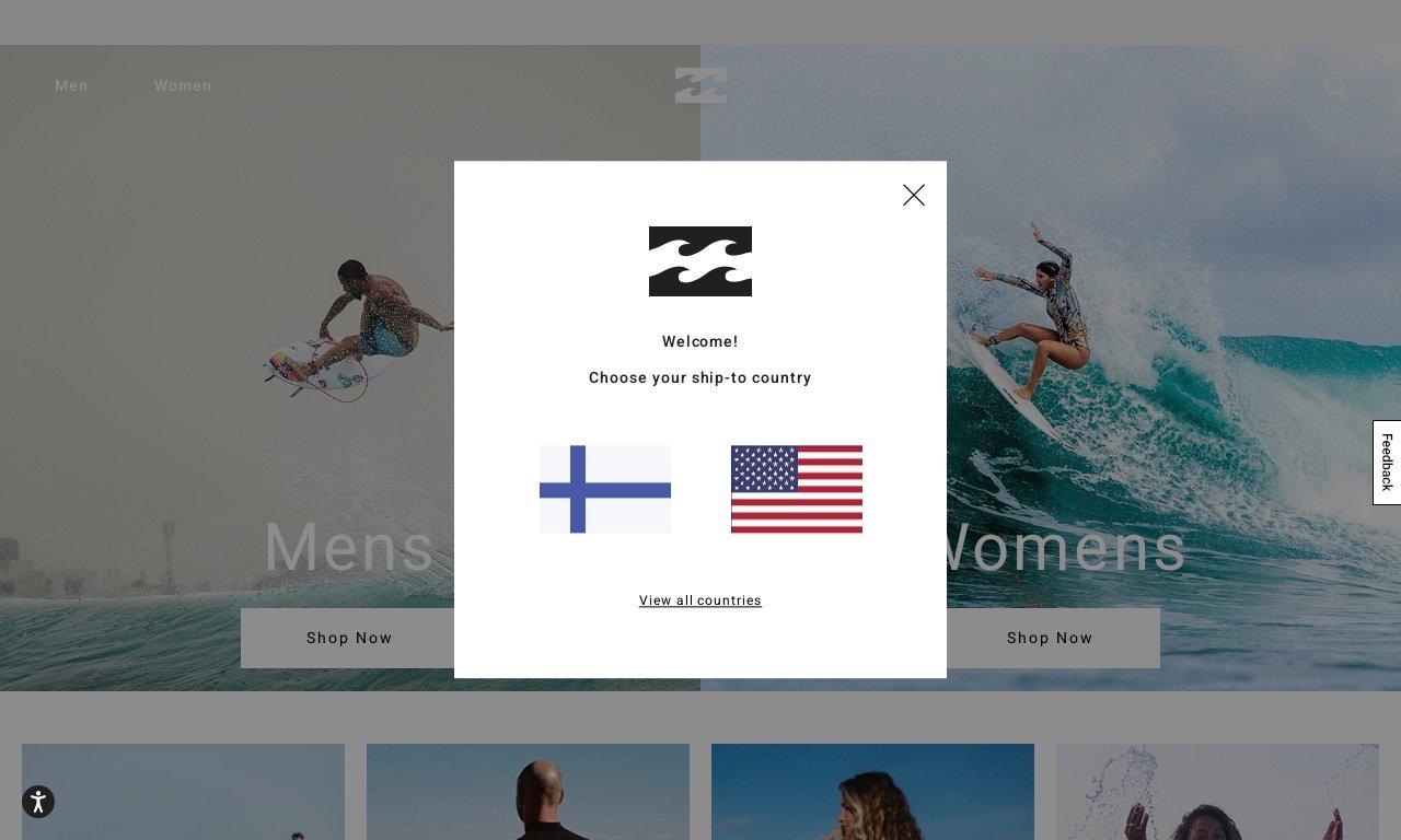 Billabong.com.au 1