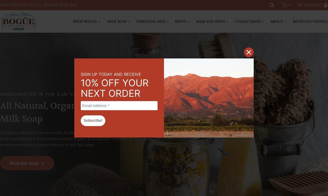 Boguemilksoap.com 1