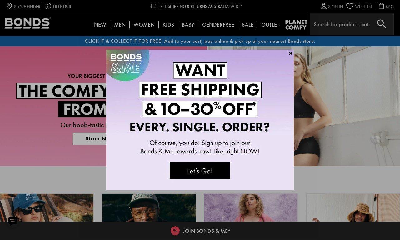 Bonds.com.au 1