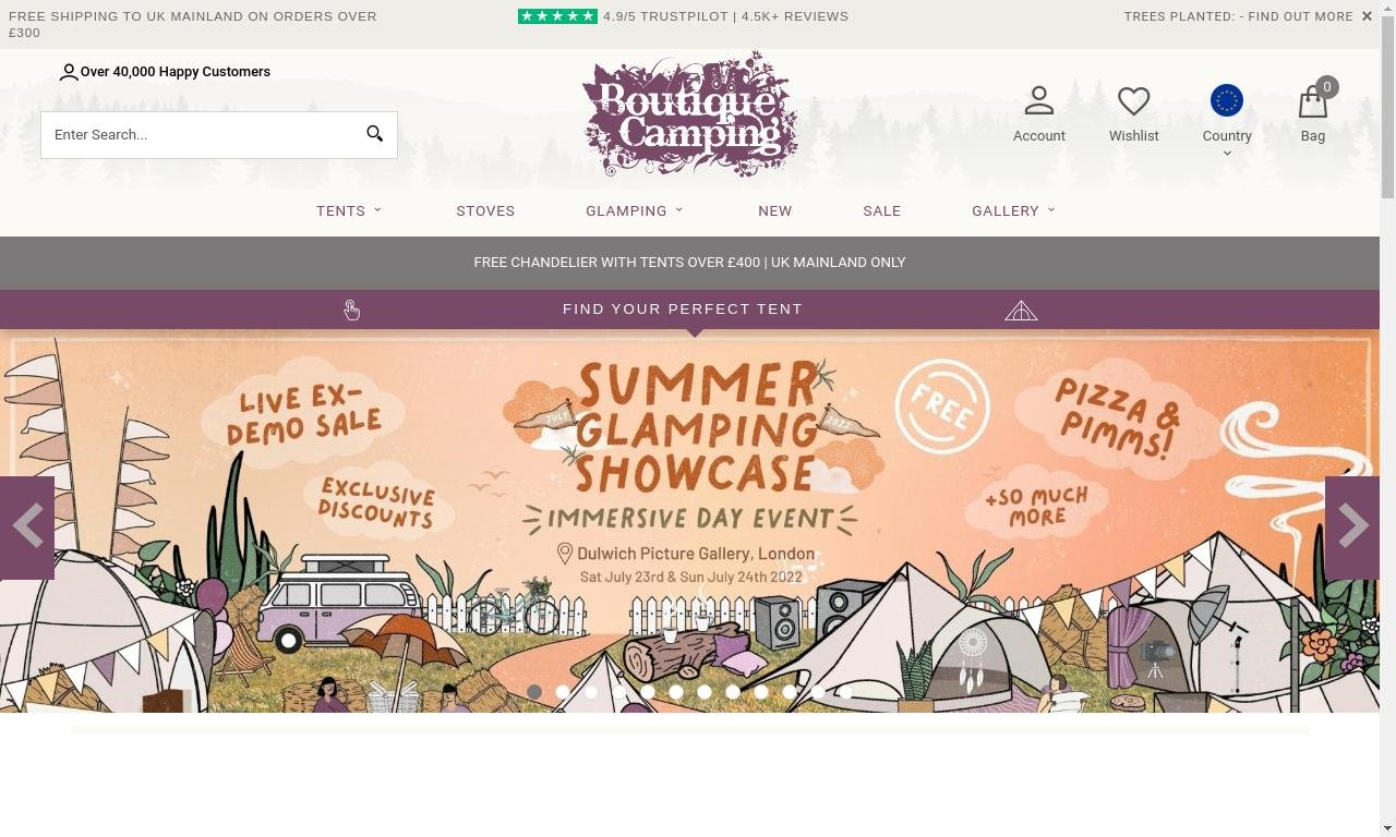 Boutique Camping 1