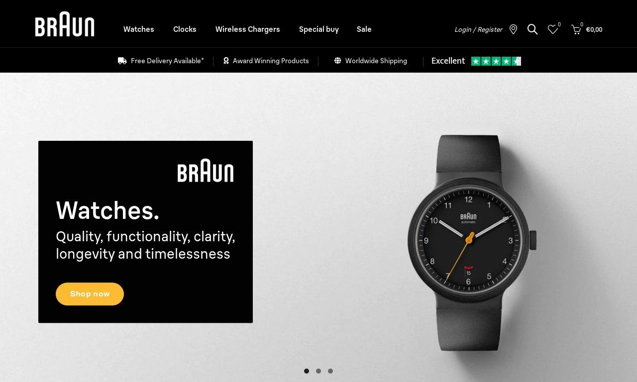 Braun-clocks.com 1