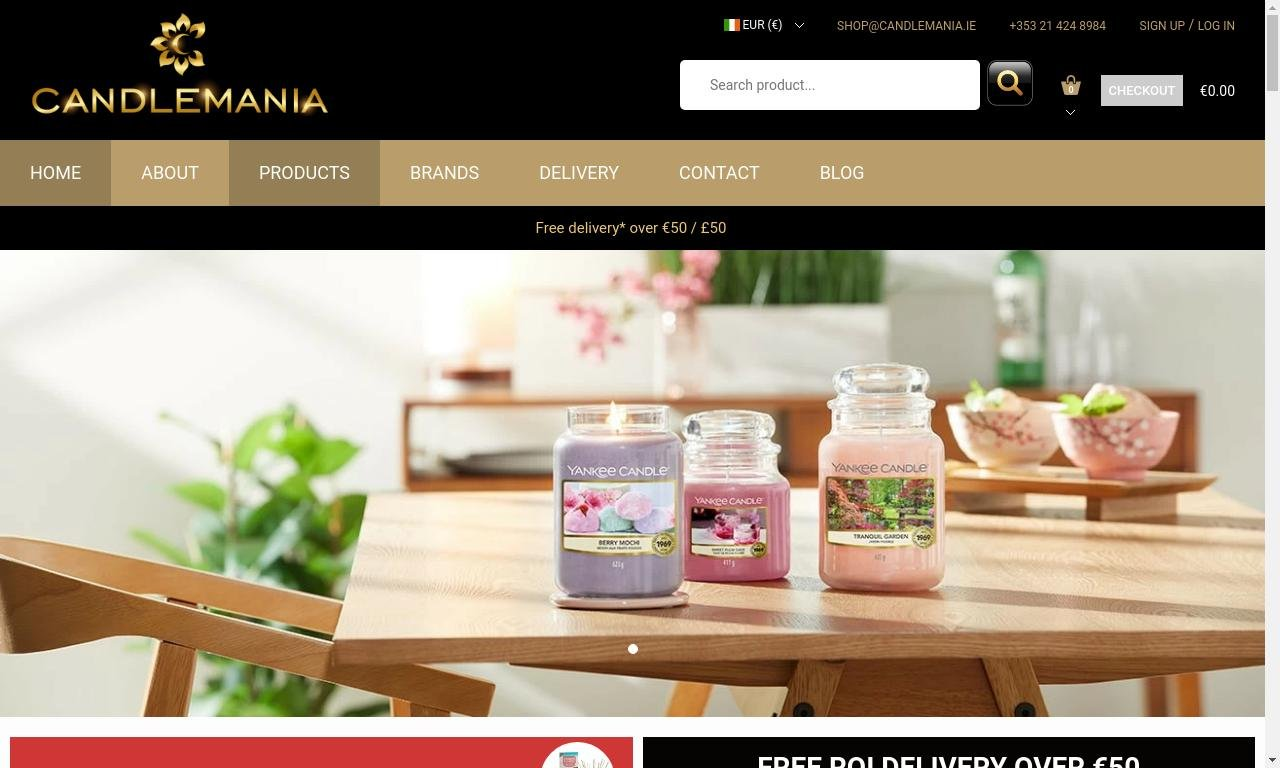 Candlemania.ie 1