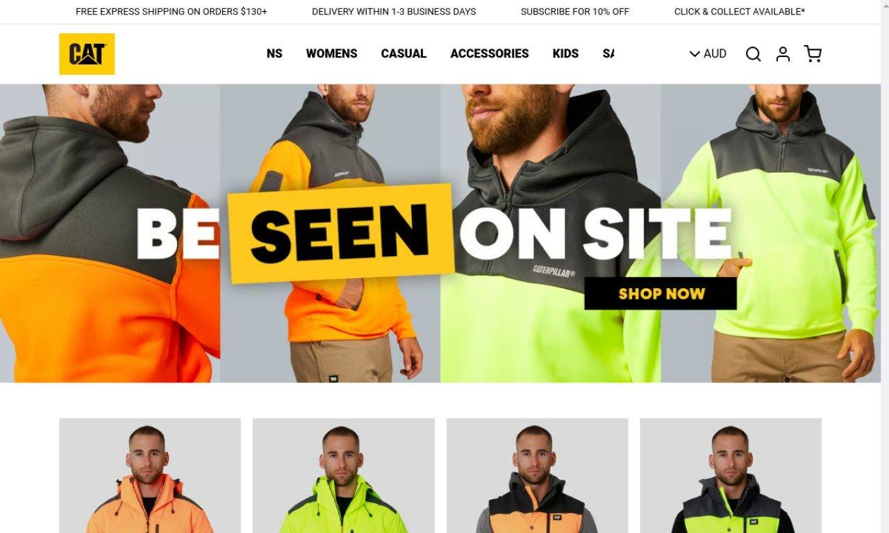 Catworkwear.com.au 1