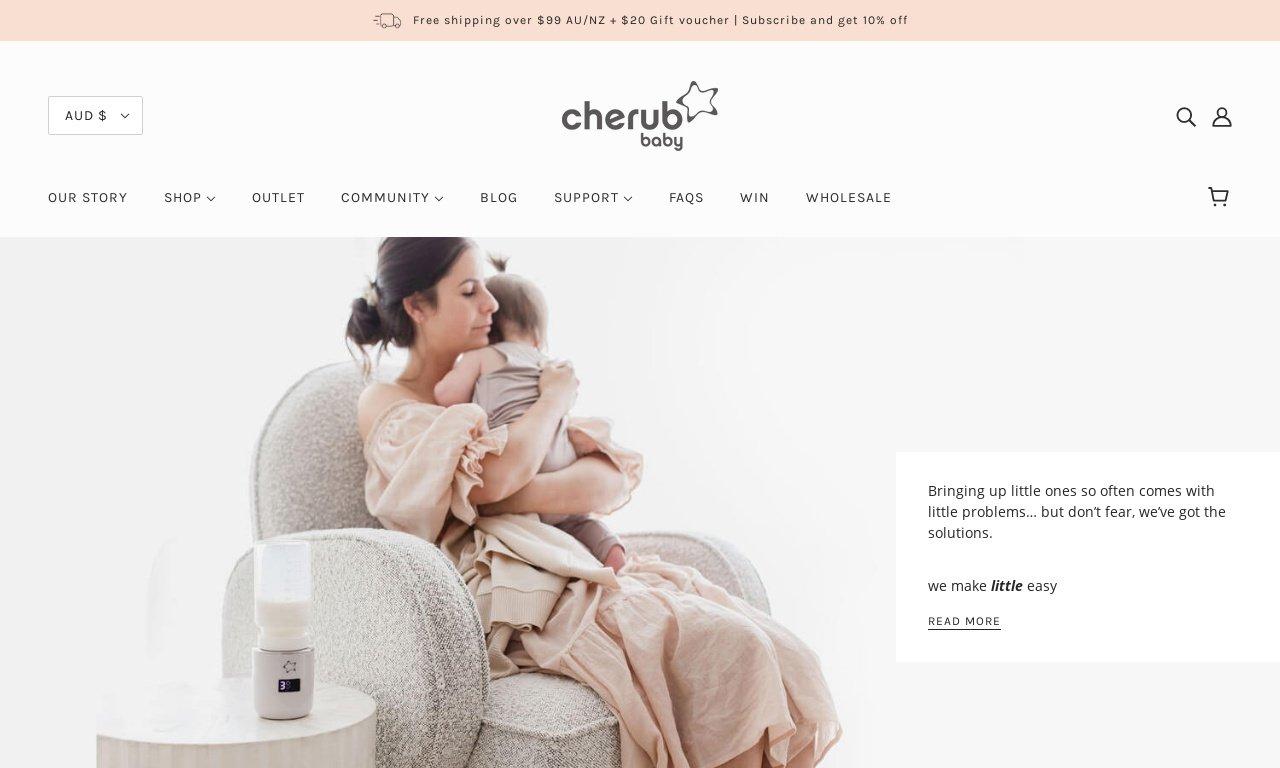 Cherubbaby.com.au 1