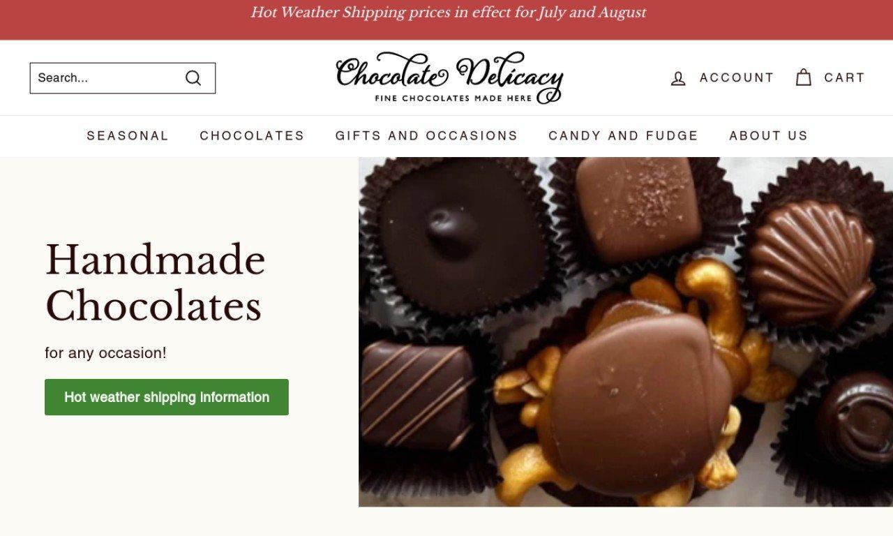 Chocolatedelicacy.com 1