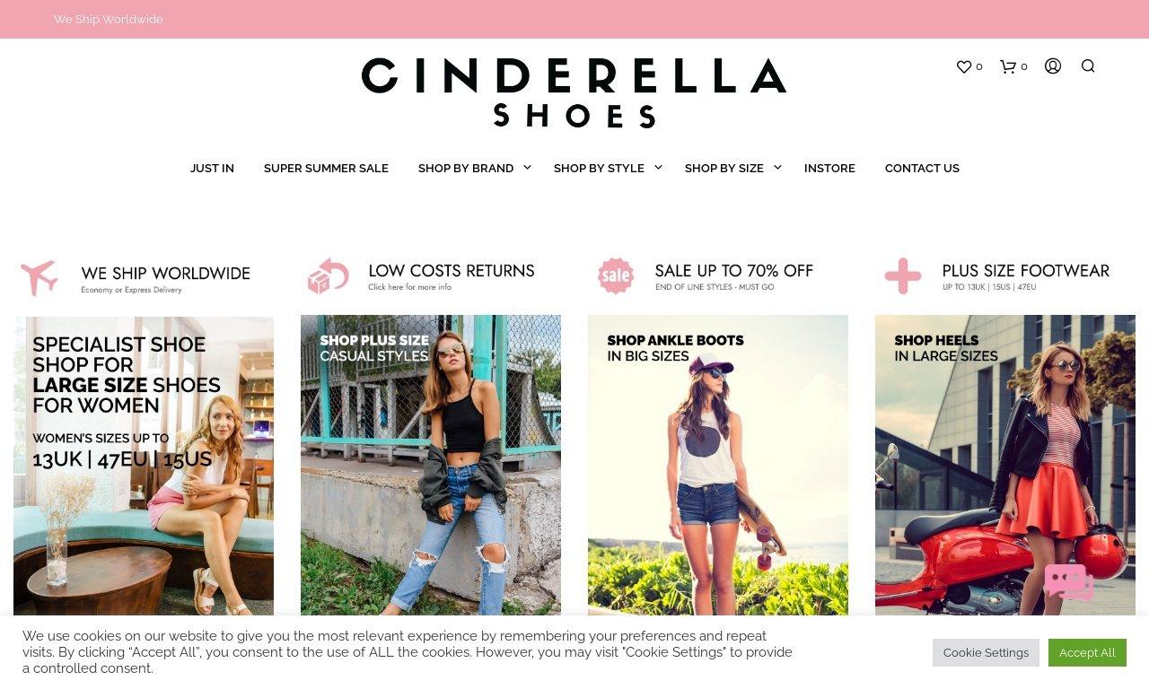 Cinderellashoes.com 1
