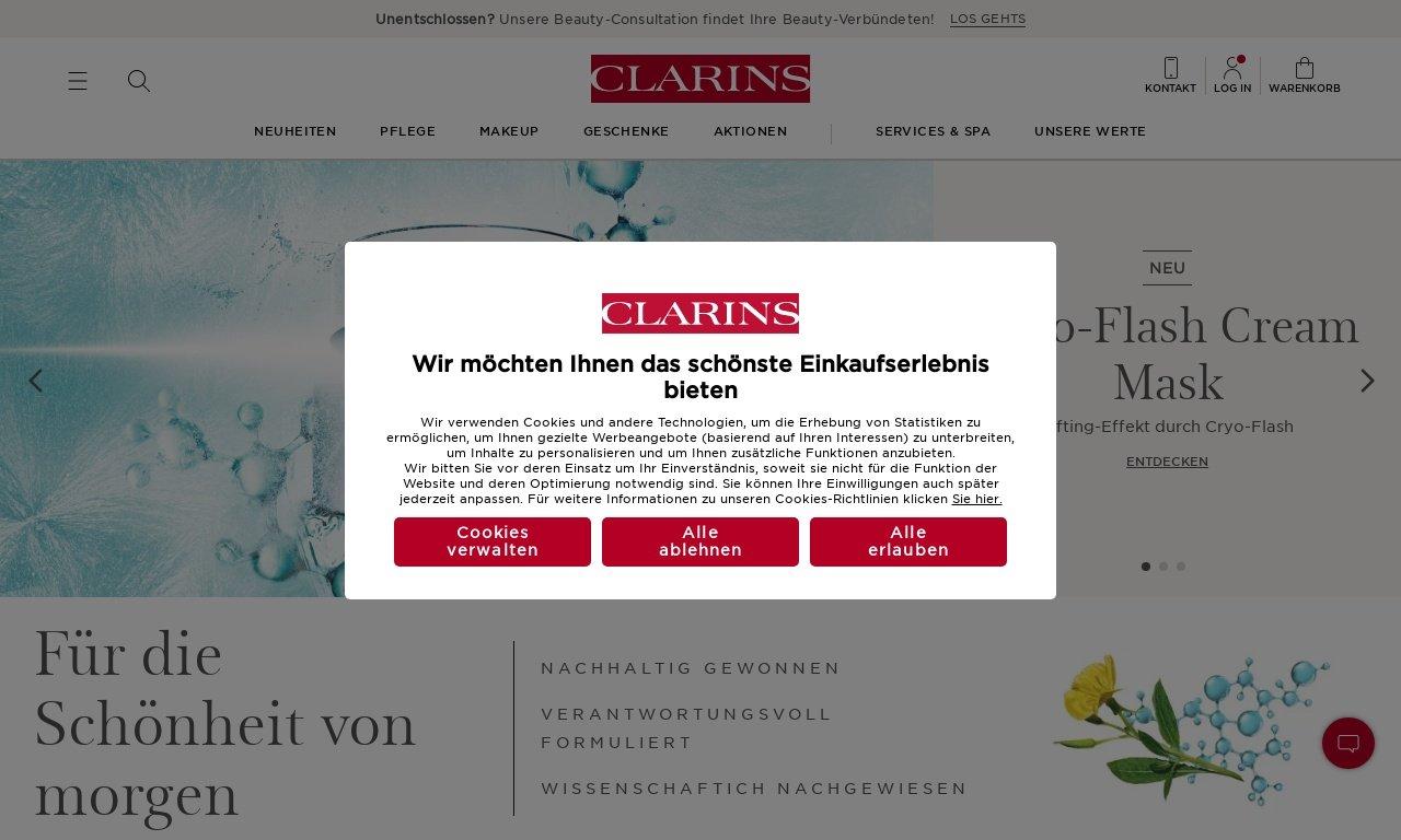 Clarins france 1