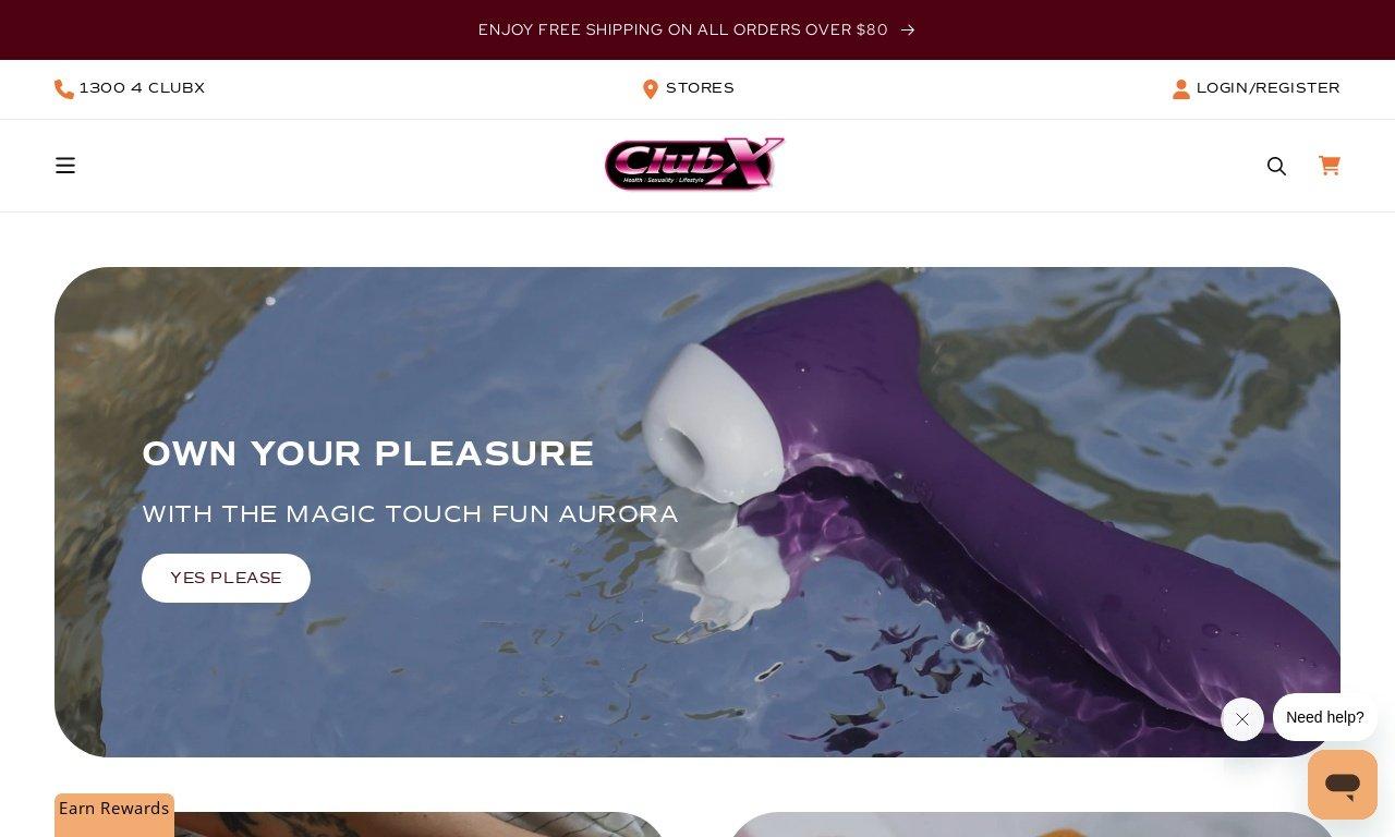 Clubx.com.au 1