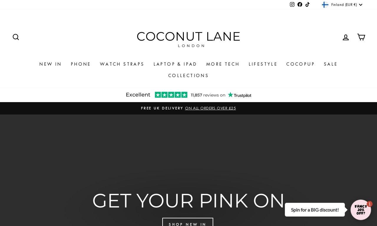 Coconut-lane.com 1