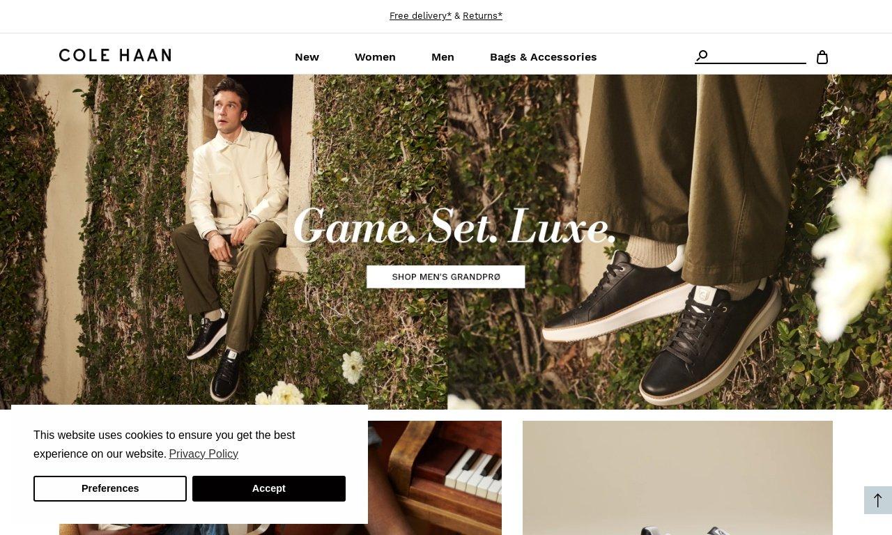 Cole haan.com 1