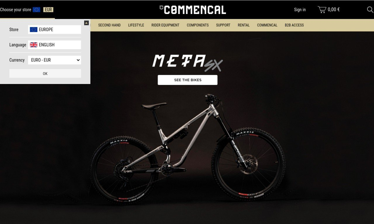 Commencal-store.co.nz 1