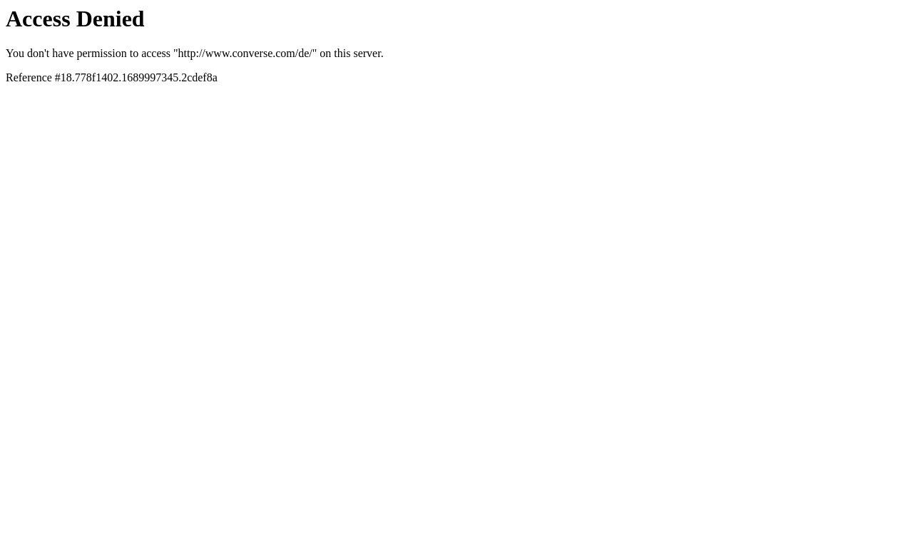 Converse Germany 1