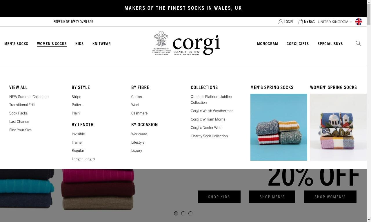 Corgisocks.com 1