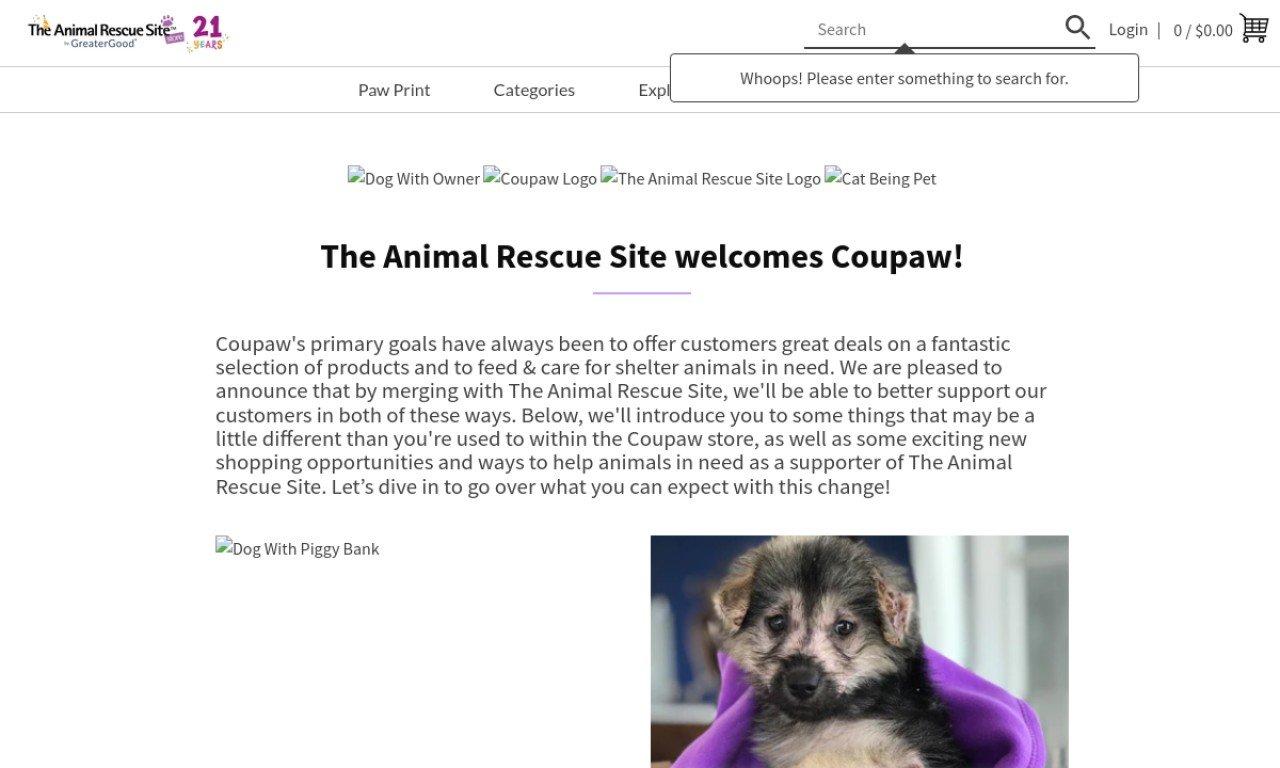 Coupaw.com 1