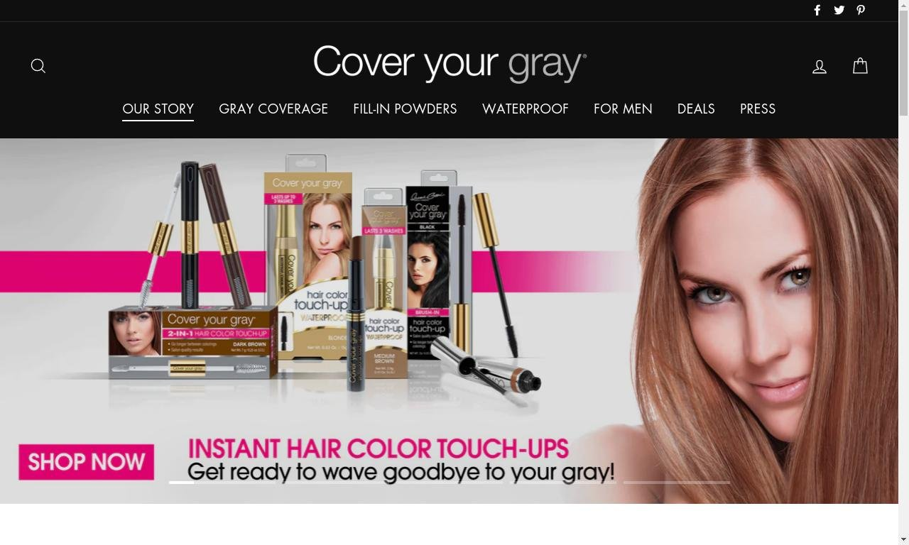 Coveryourgray.com 1