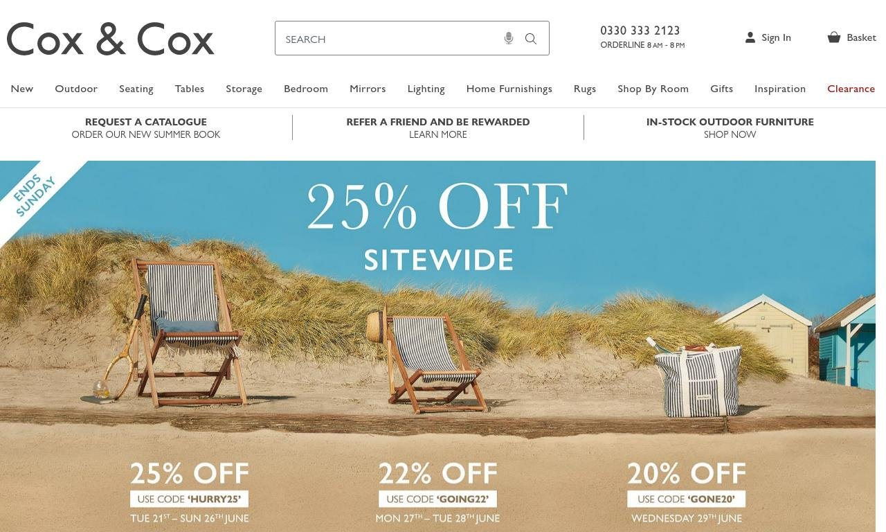 Cox andCox.co.uk 1