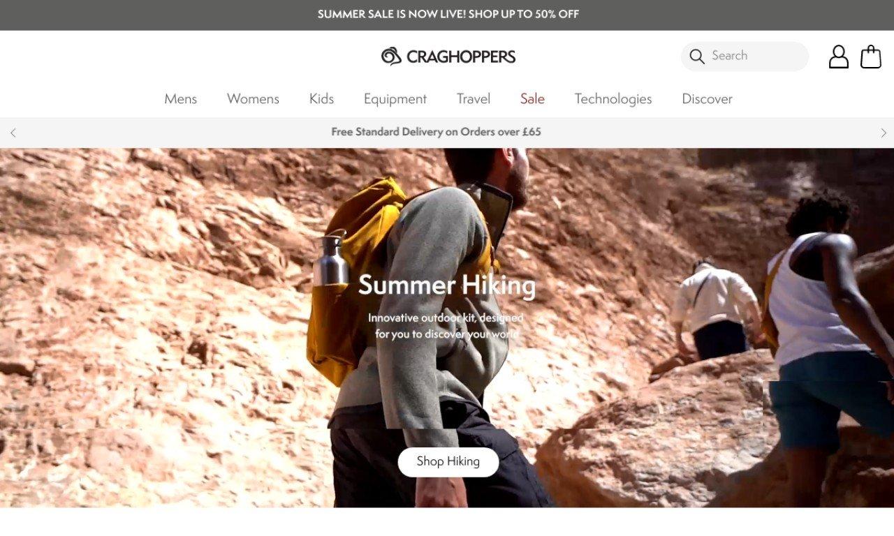 Craghoppers.com 1