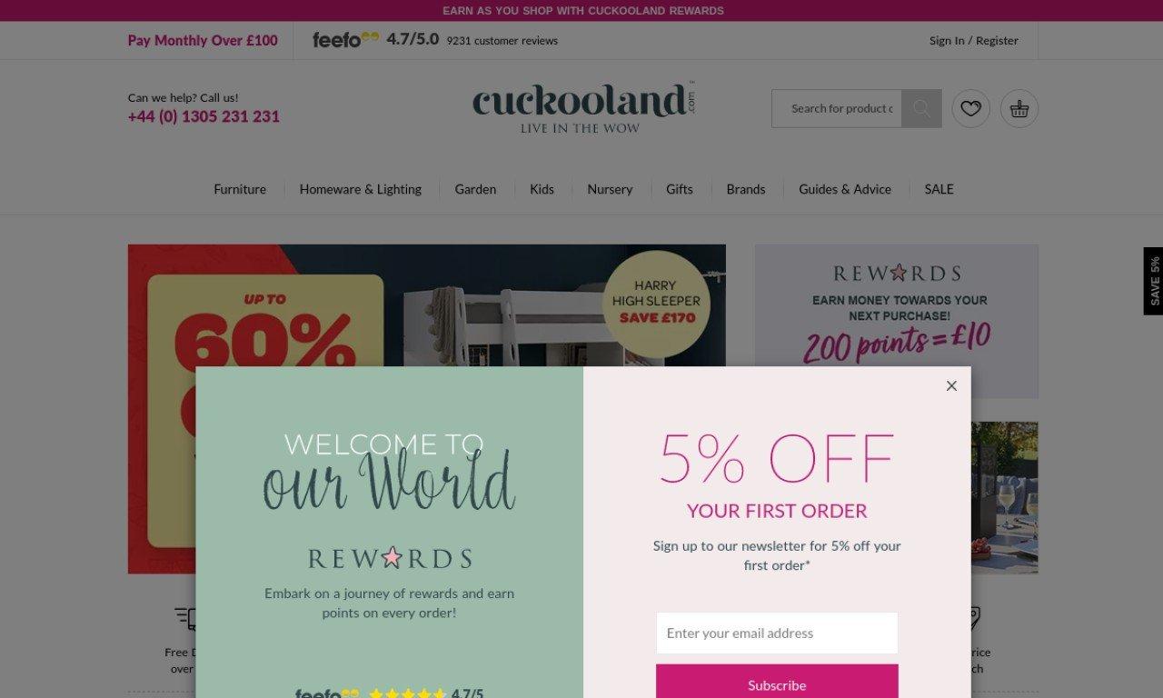 Cuckoo land.com 1