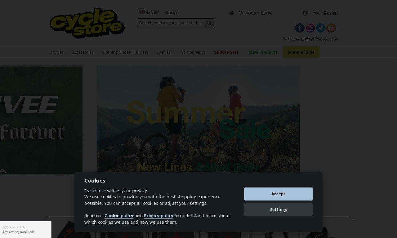 Cyclestore.co.uk 1