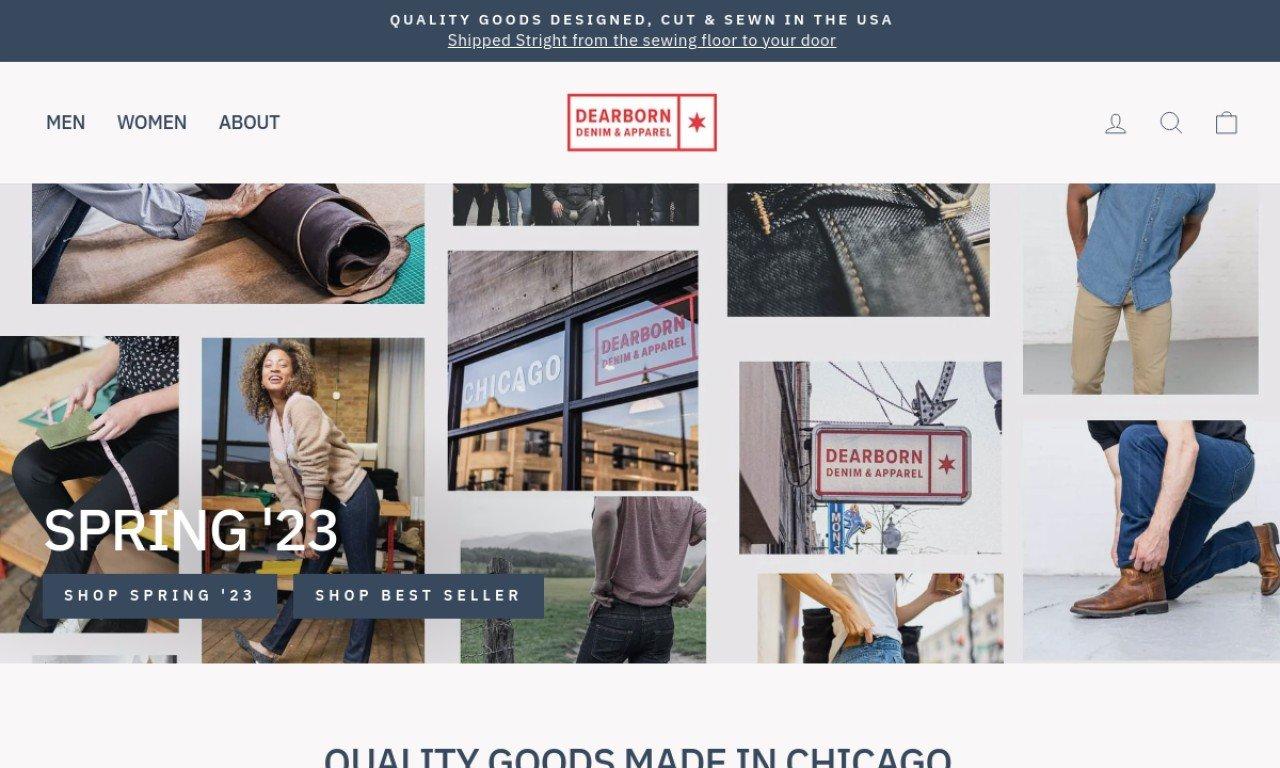 Dearborn denim.us 1
