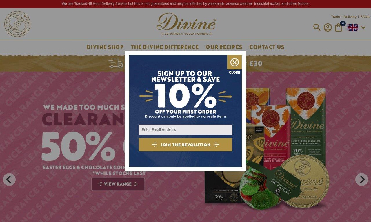 Divinechocolate.com 1
