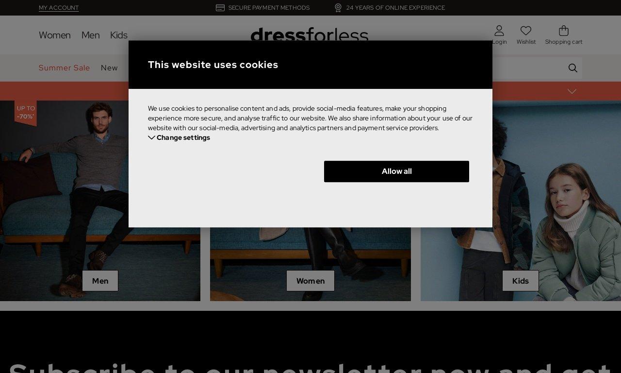 Dress-for-less.com 1