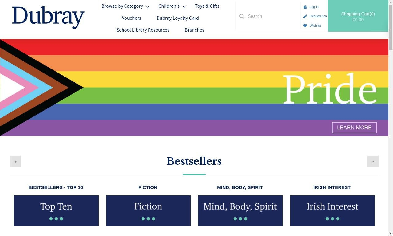 DubrayBooks.ie 1