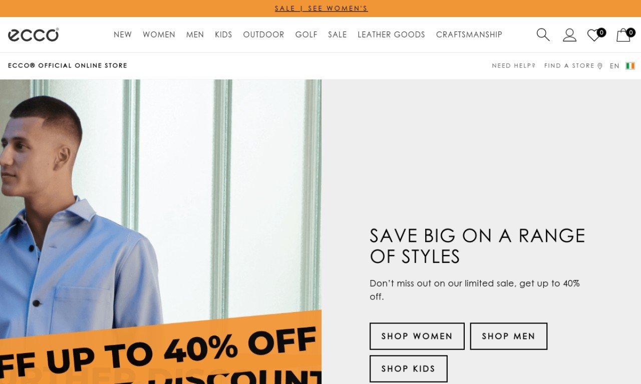 Ecco Shoes Ireland 1