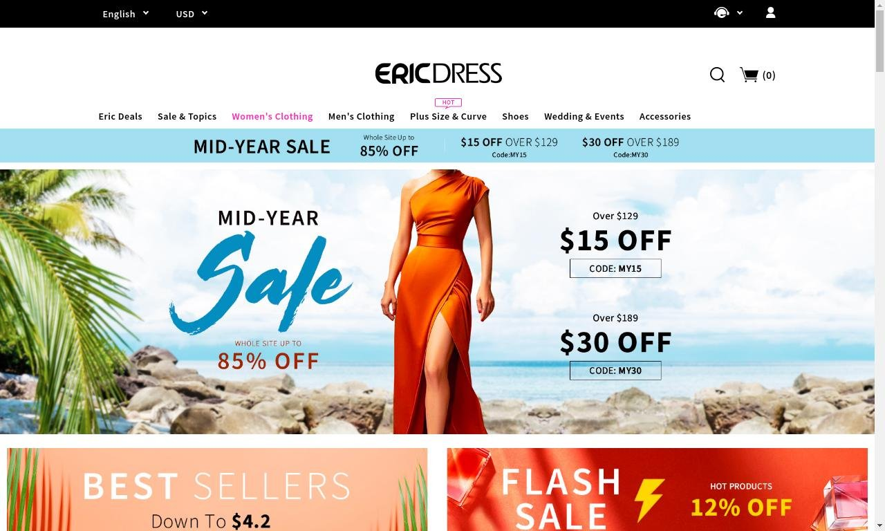 Ericdress.com - France 1